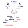 三進四出開關(衛星輸入V、H+數位電視天線,可接四部接收機)