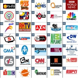 菲律賓國外衛星節目組合(純英文需網路DIY)
