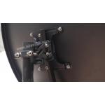 全台首發~ 黑金剛防鏽高增益60CM偏焦碟型天線+高效能KU集波器